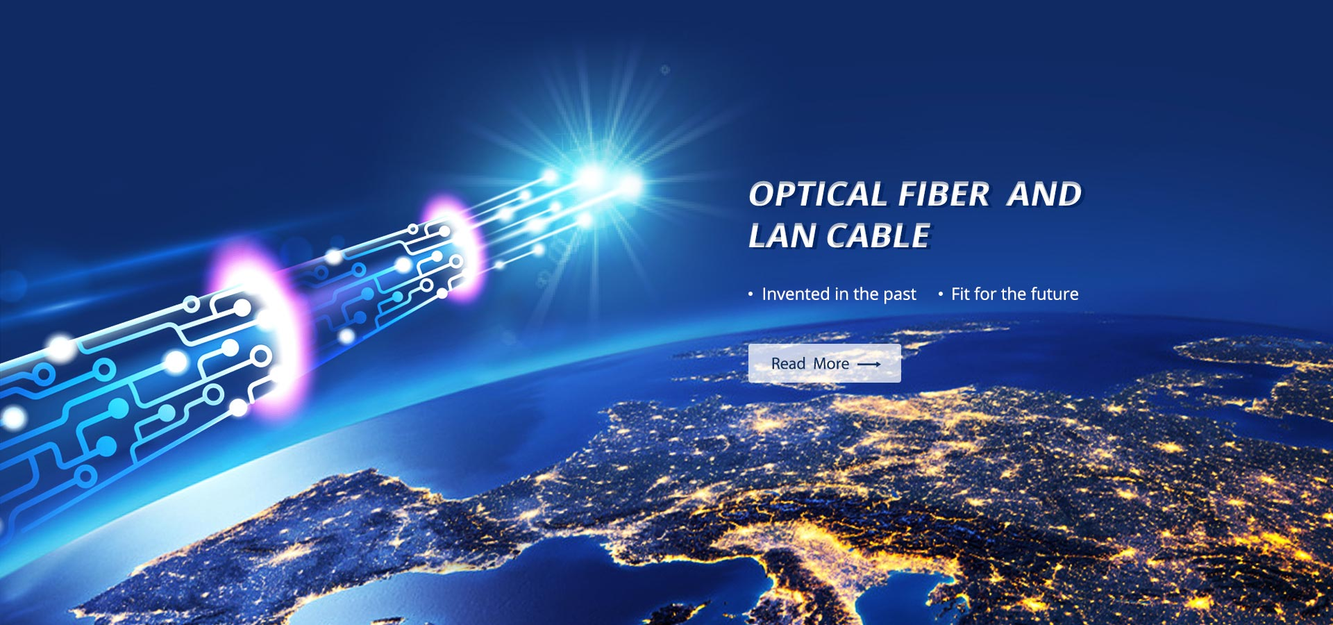 OPTICAL FIBER CABLE and LAN CABLE