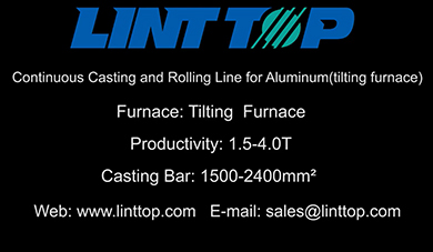 Continuous Casting and Rolling Line for Aluminum(tilting furnace)