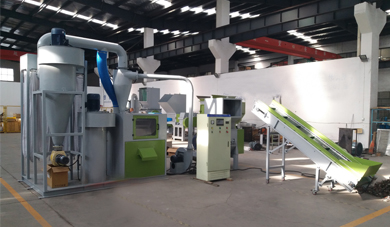 Lint Top Dispatches LT1000 Waste Cable Recycling Production Line