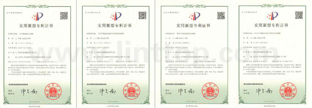 Certificates of Patent for Invention